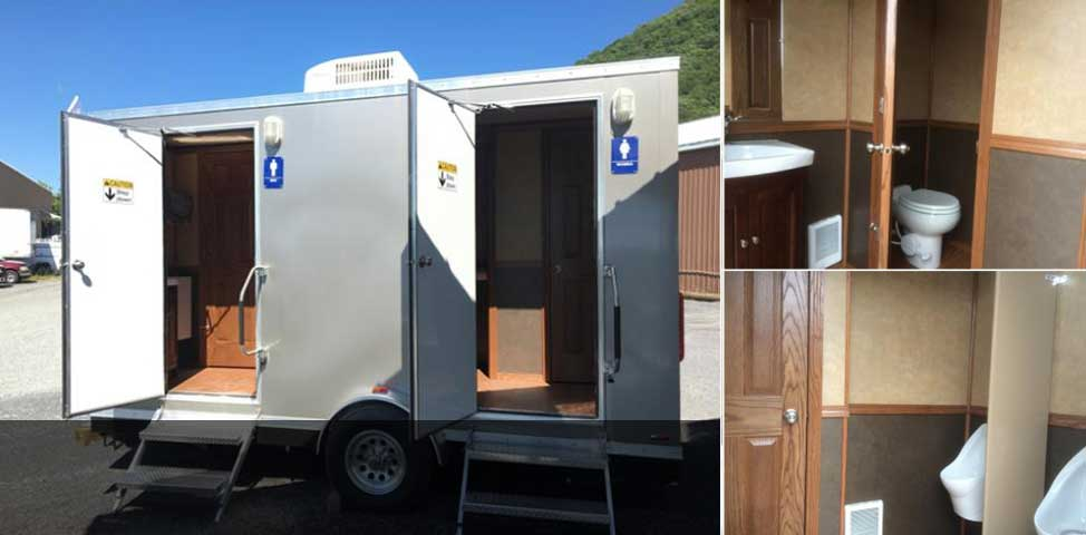 Rent our luxurious portable restroom for your next event