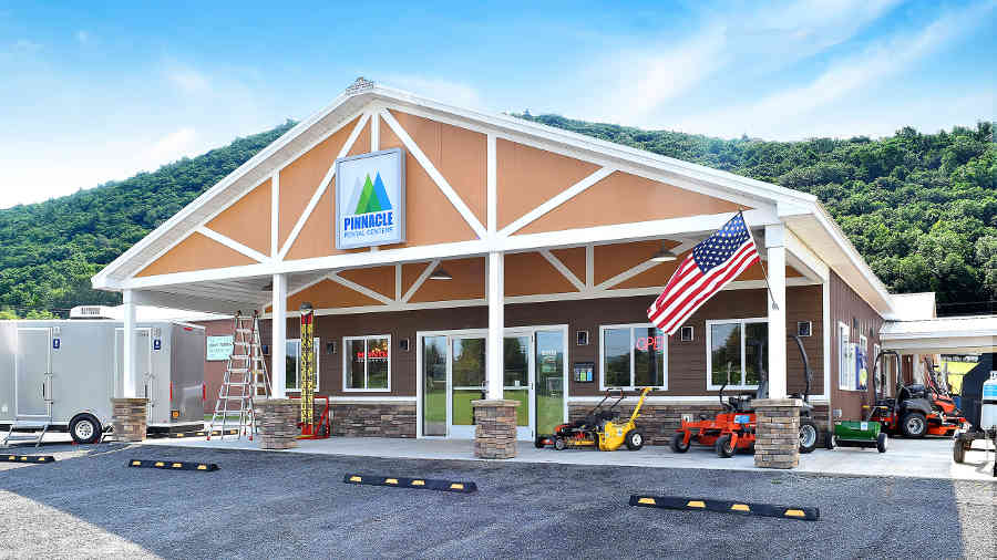 Pinnacle Rental Centers store front serving the Finger Lakes Region