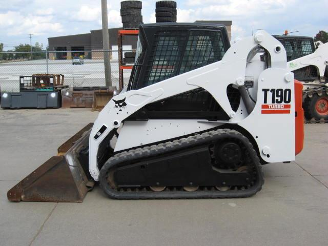 Where to find BOBCAT TRACK-STEER, T190 CAB in Bath