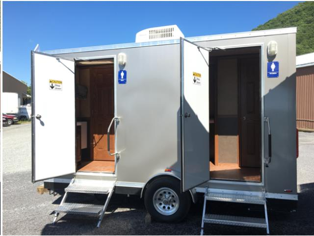RESTROOM TRAILER FOOT Rentals Bath NY Where To Rent RESTROOM - Bathroom trailer rentals