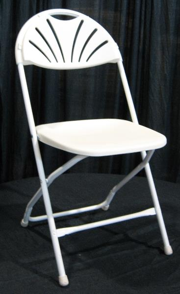 Where to find CHAIR WHITE FAN BACK in Bath