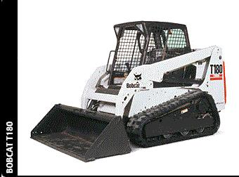 Where to find BOBCAT TRACK-STEER, T180 in Bath