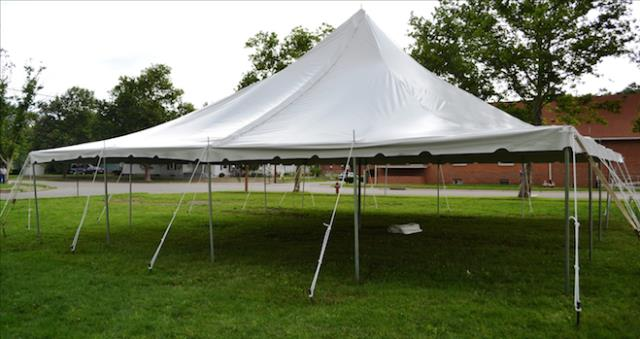 40x40 Pole Tent Rentals Bath Ny Where To Rent 40x40 Pole