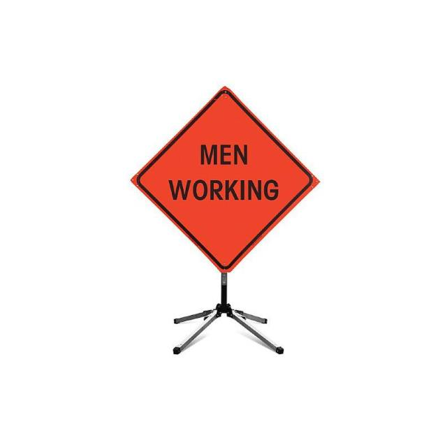 Where to find MEN WORKING CAUTION SIGNS in Bath