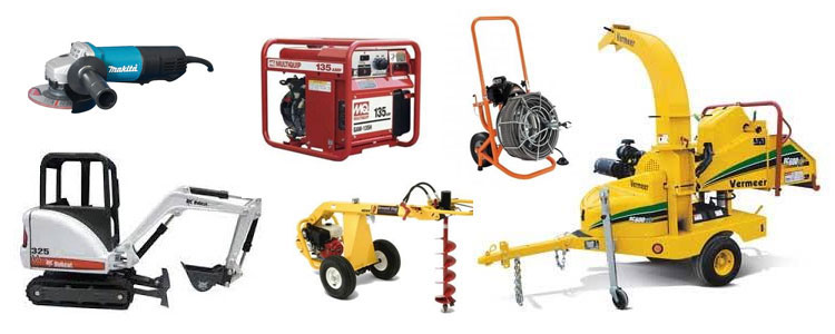 Equipment rentals in Hornell, Hammondsport, Penn Yan, Bath, Campbell NY
